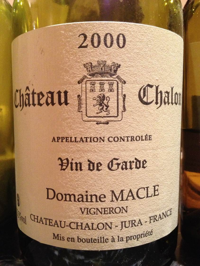 Chateau Chalon Macle 2000