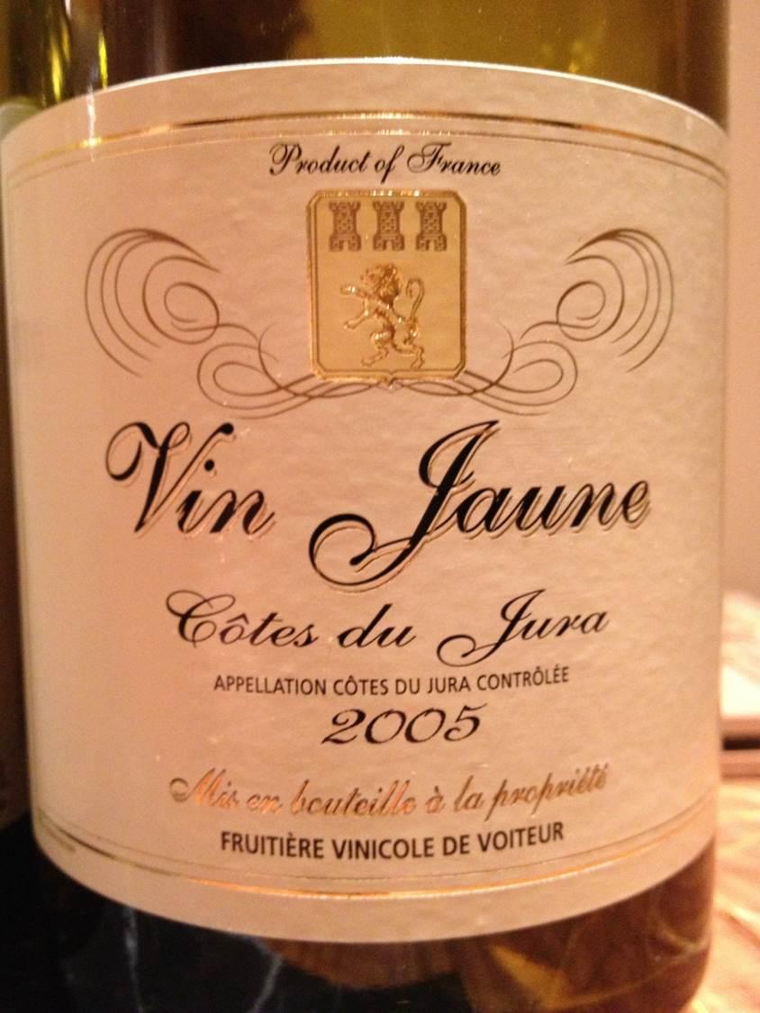 Vin Jaune Fruitière Vinicole de Voiteur 2005