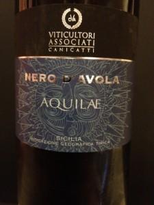 Nero d'Avola Aquilae 2010