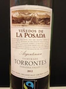 Vinedos de la posada Torrontes 2012