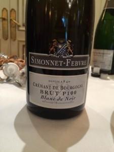 Crémant de Bourgogne Brut Simonnet-Febvre P100