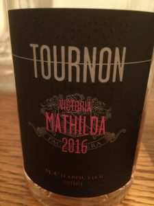 Rosé Mathilda 2016 domaine Tournon